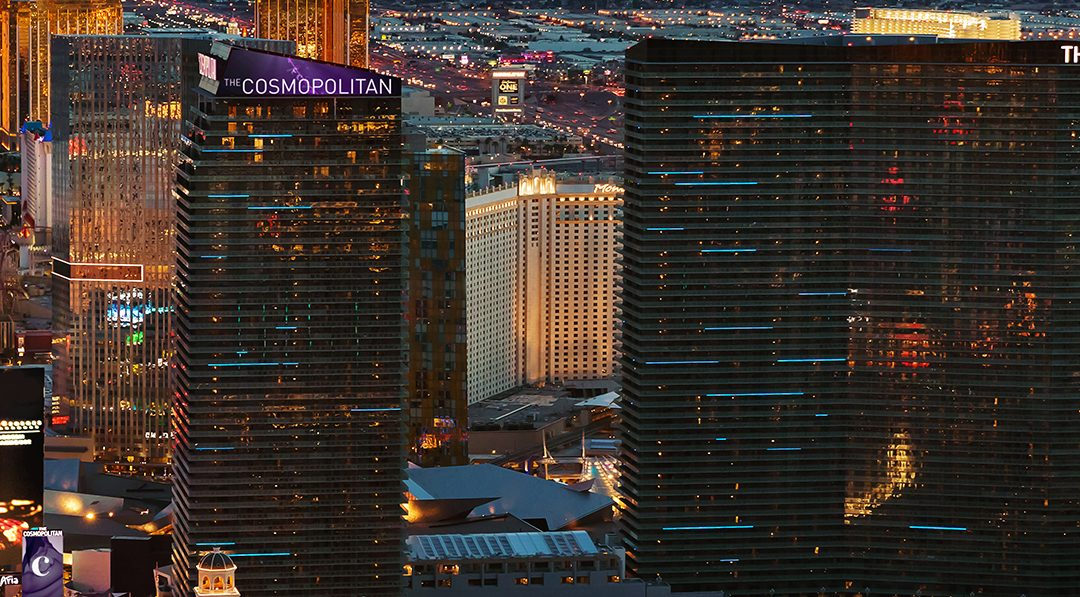 The Cosmopolitan of Las Vegas, USA